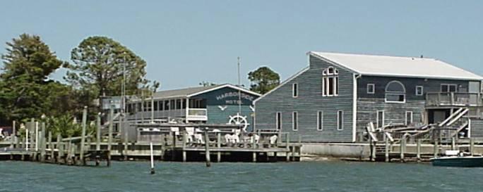The Harborside Motel From Silver Lake Harbor