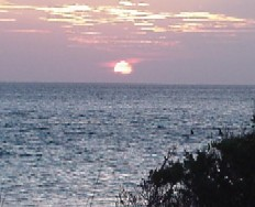 A beautiful Ocracoke Island sunset on the sound