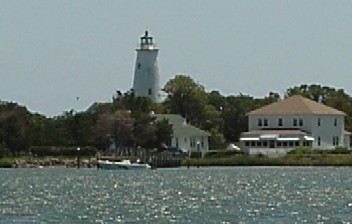The lighthouse View From The Dock